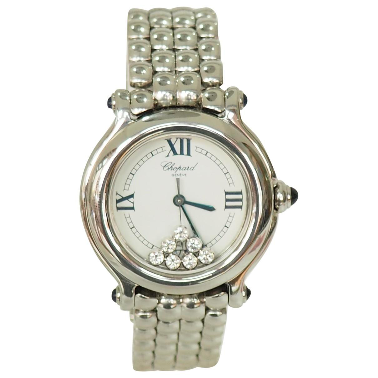 Chopard Happy Diamonds Uhr in  Silber Stahl