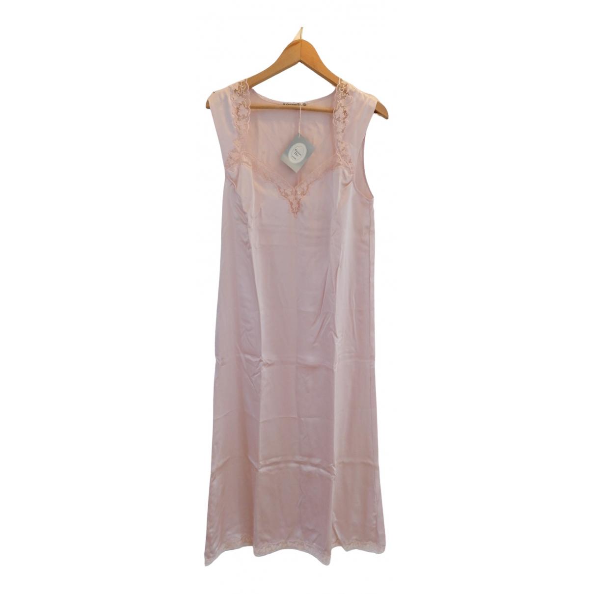 Dior \N Pink Silk dress for Women 42 FR