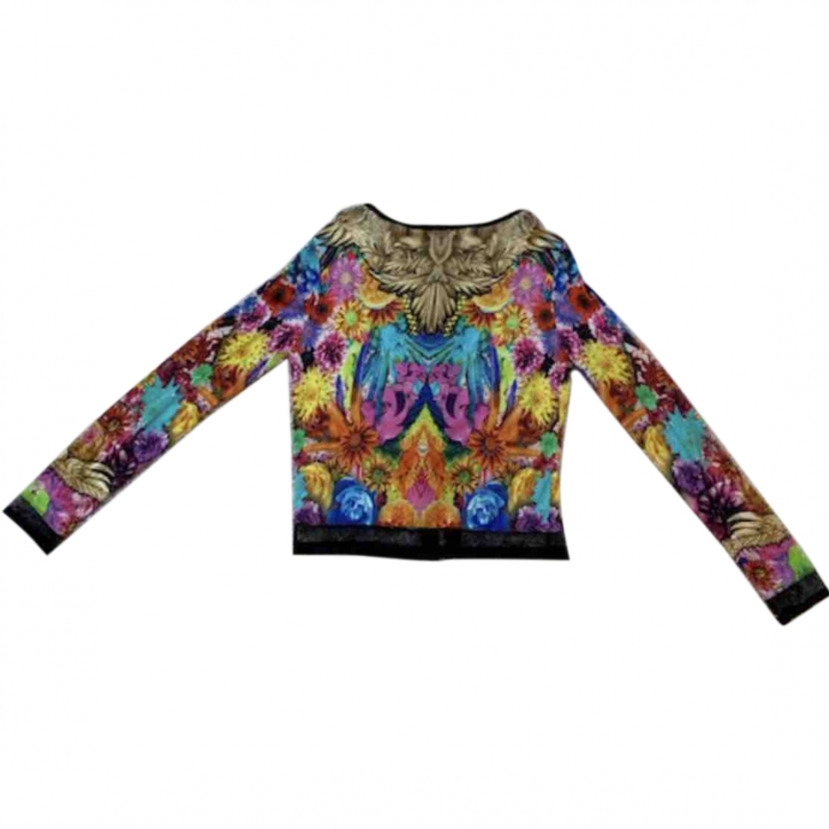 Roberto Cavalli \N Multicolour Silk Knitwear for Women 42 IT