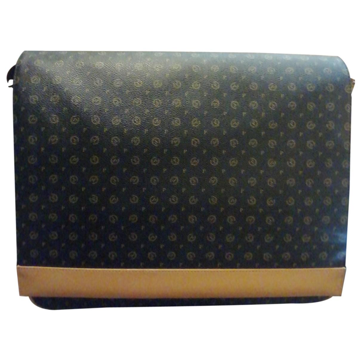Pollini N Brown Cloth bag for Men N