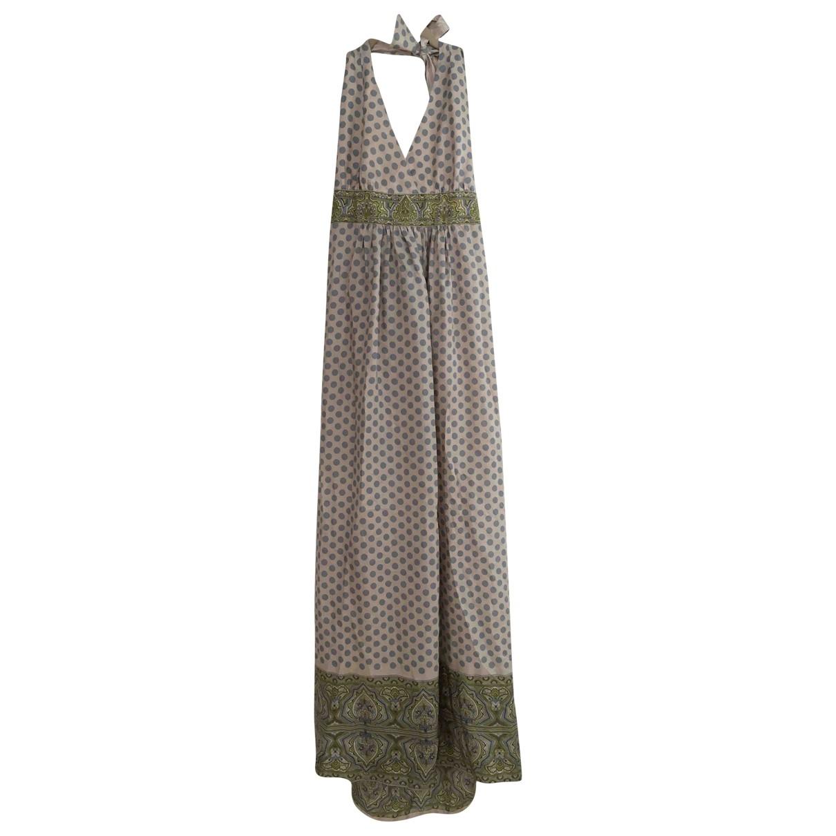 Bcbg Max Azria \N Kleid in  Bunt Seide