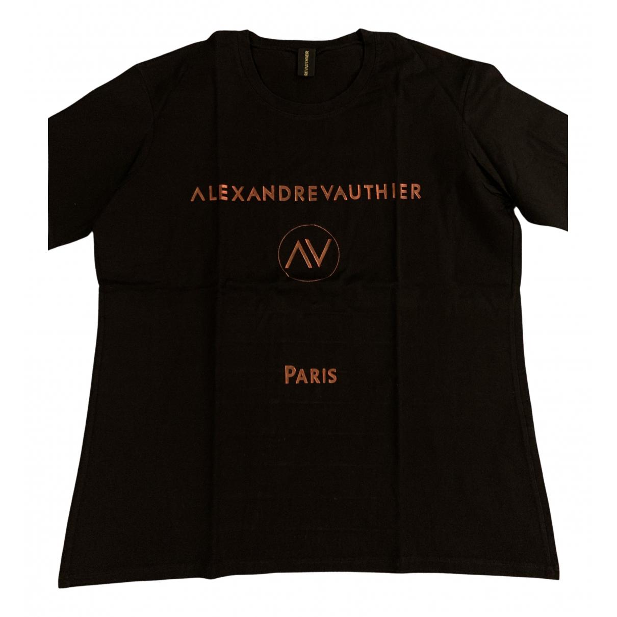 Alexandre Vauthier - Top   pour femme en coton - noir