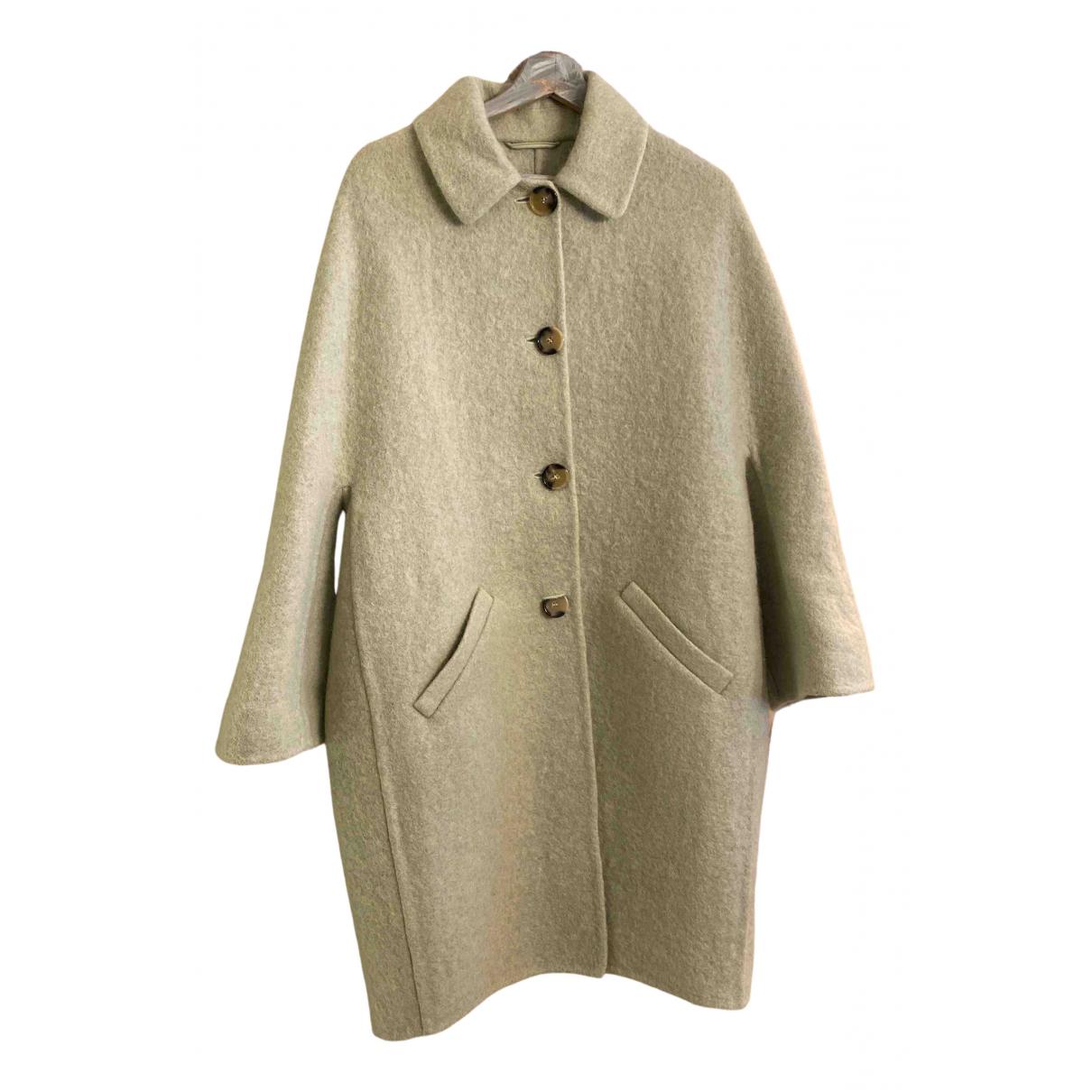 Ermanno Scervino - Manteau   pour femme en laine - vert