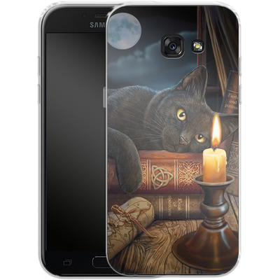 Samsung Galaxy A5 (2017) Silikon Handyhuelle - Witching Hour von Lisa Parker