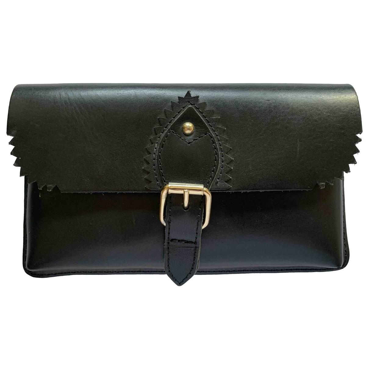 & Stories \N Black Leather wallet for Women \N