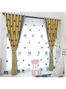 Custom Blackout Fresh Style Living Room Sheer Curtain