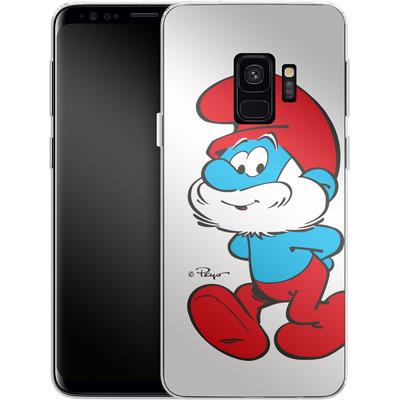 Samsung Galaxy S9 Silikon Handyhuelle - Papa Smurf von The Smurfs