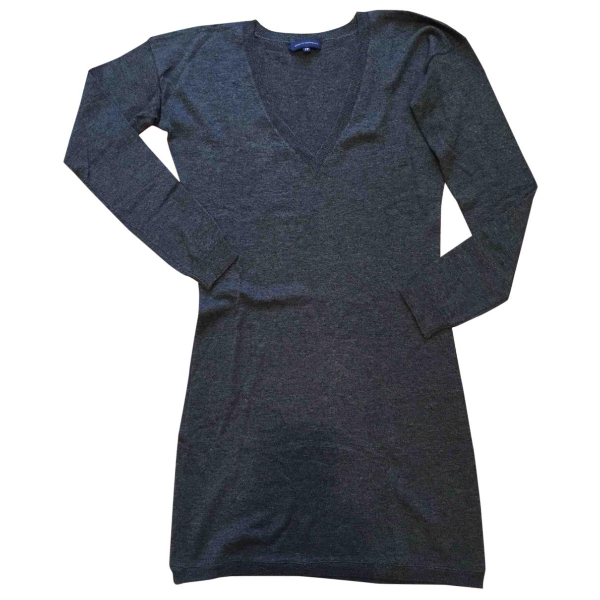 Adolfo Dominguez - Pull   pour femme en laine - gris