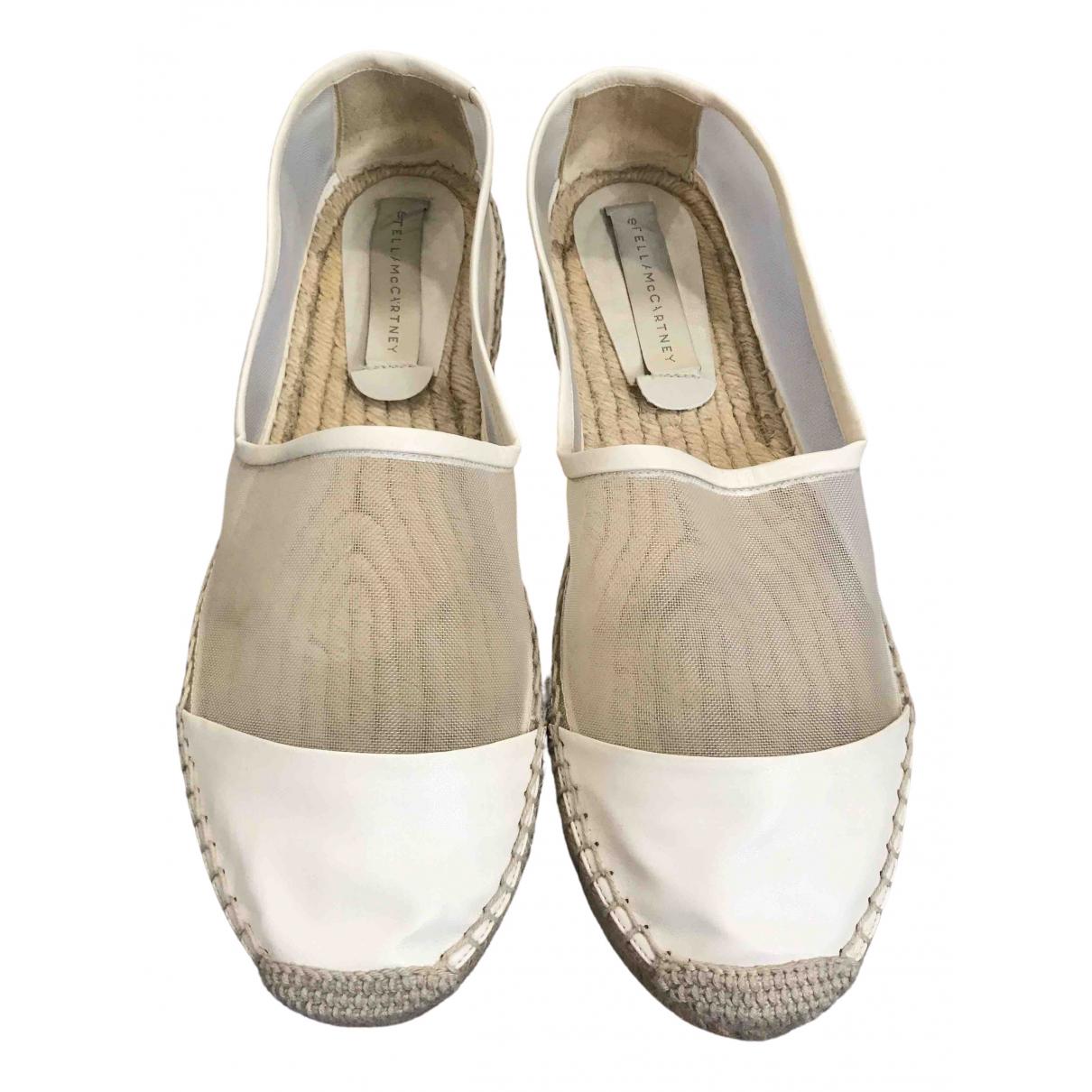 Stella Mccartney \N White Leather Espadrilles for Women 41 EU
