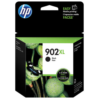 HP 902XL T6M14AN Original Black Ink Cartridge High Yield