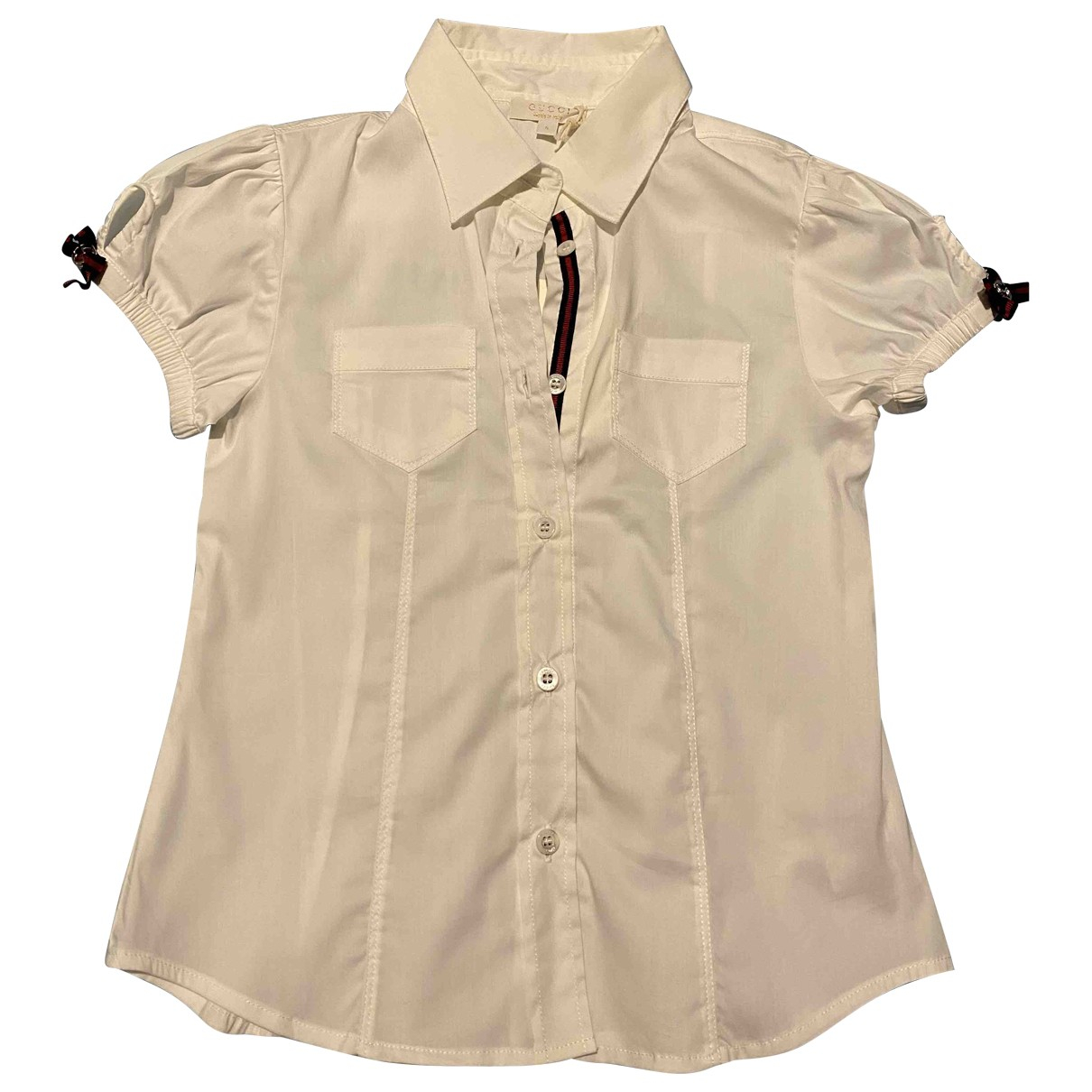 Gucci \N White Cotton  top for Kids 5 years - up to 108cm