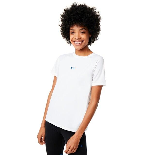 Oakley Women's White Training Tee Size: M