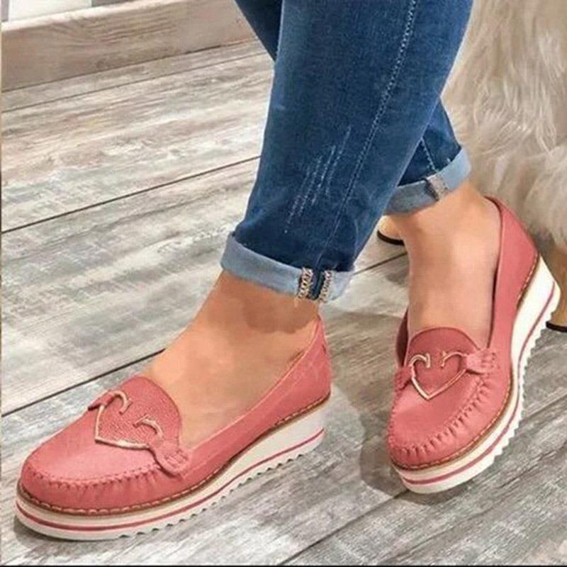 Ericdress Slip-On Sequin Wedge Heel Low Heel (1-3cm) Thin Shoes