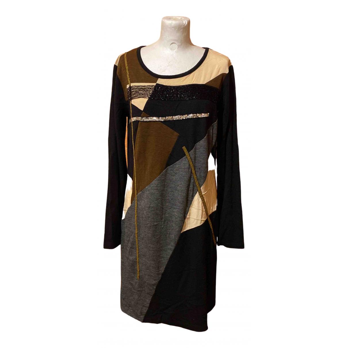 Dkny \N Kleid in  Bunt Wolle