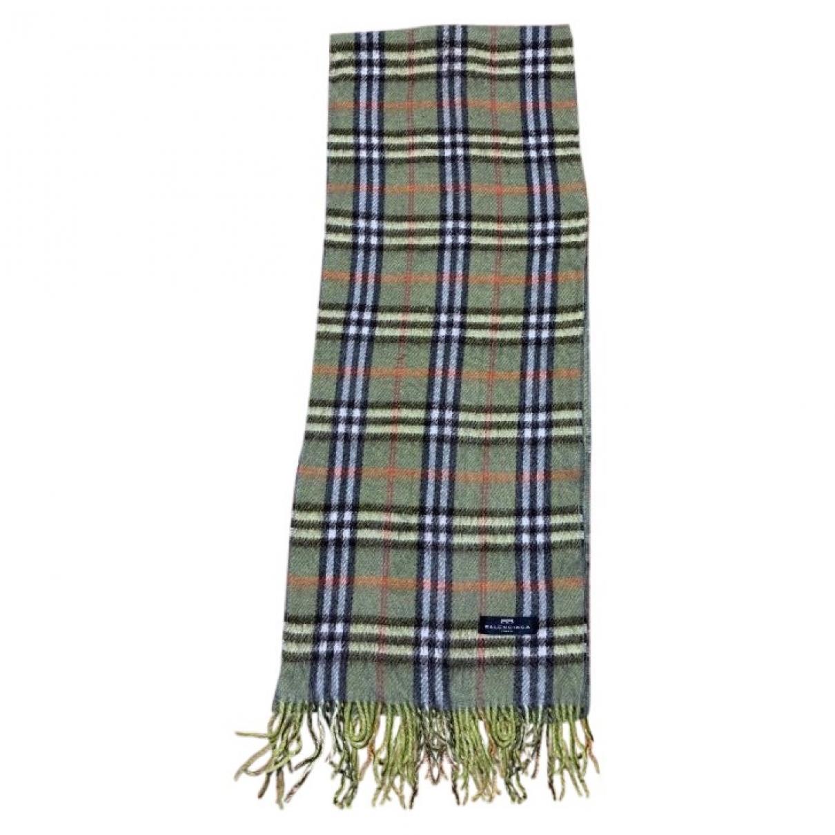 Balenciaga - Foulard   pour femme en laine - vert