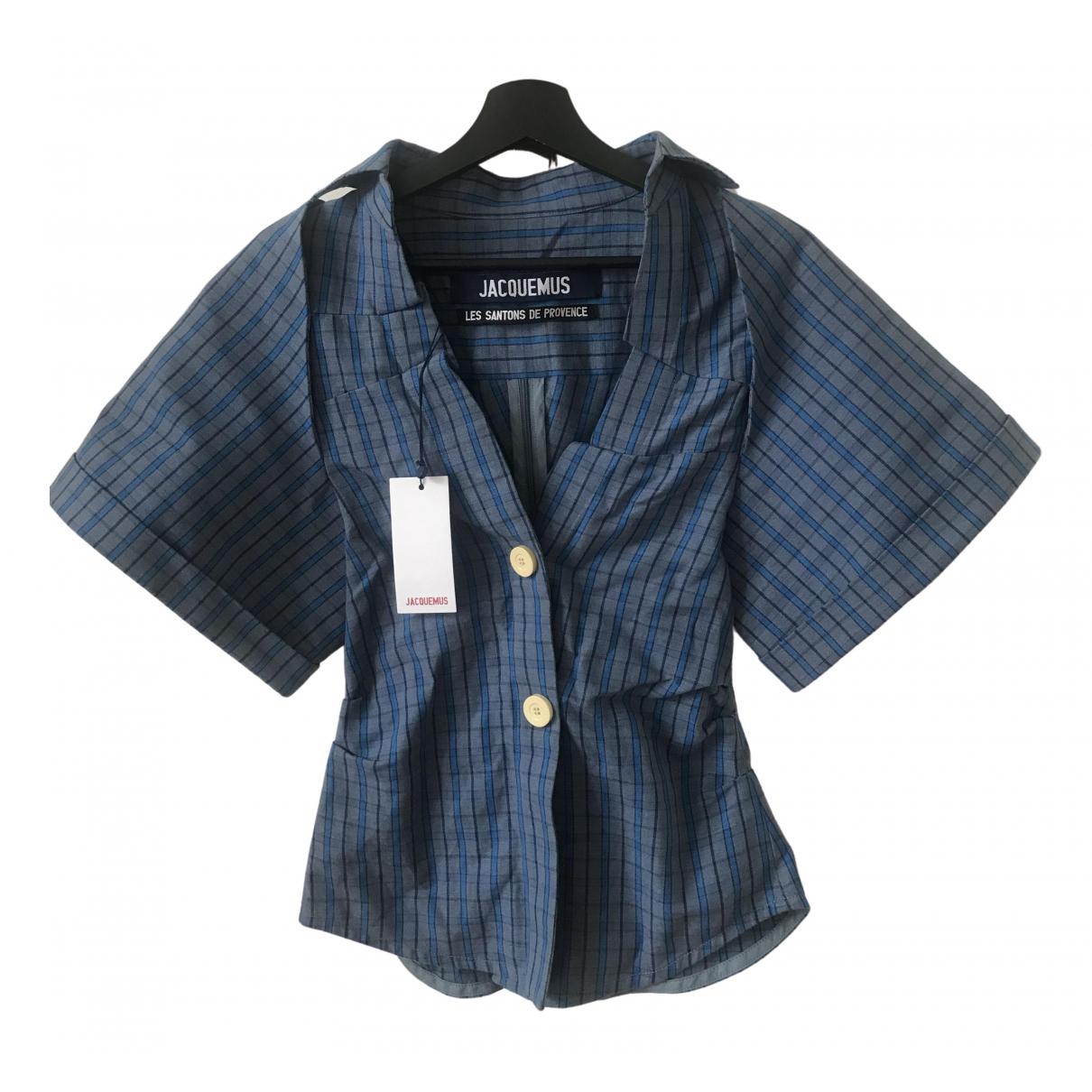 Jacquemus - Top Les Santons de Provence pour femme en coton - bleu