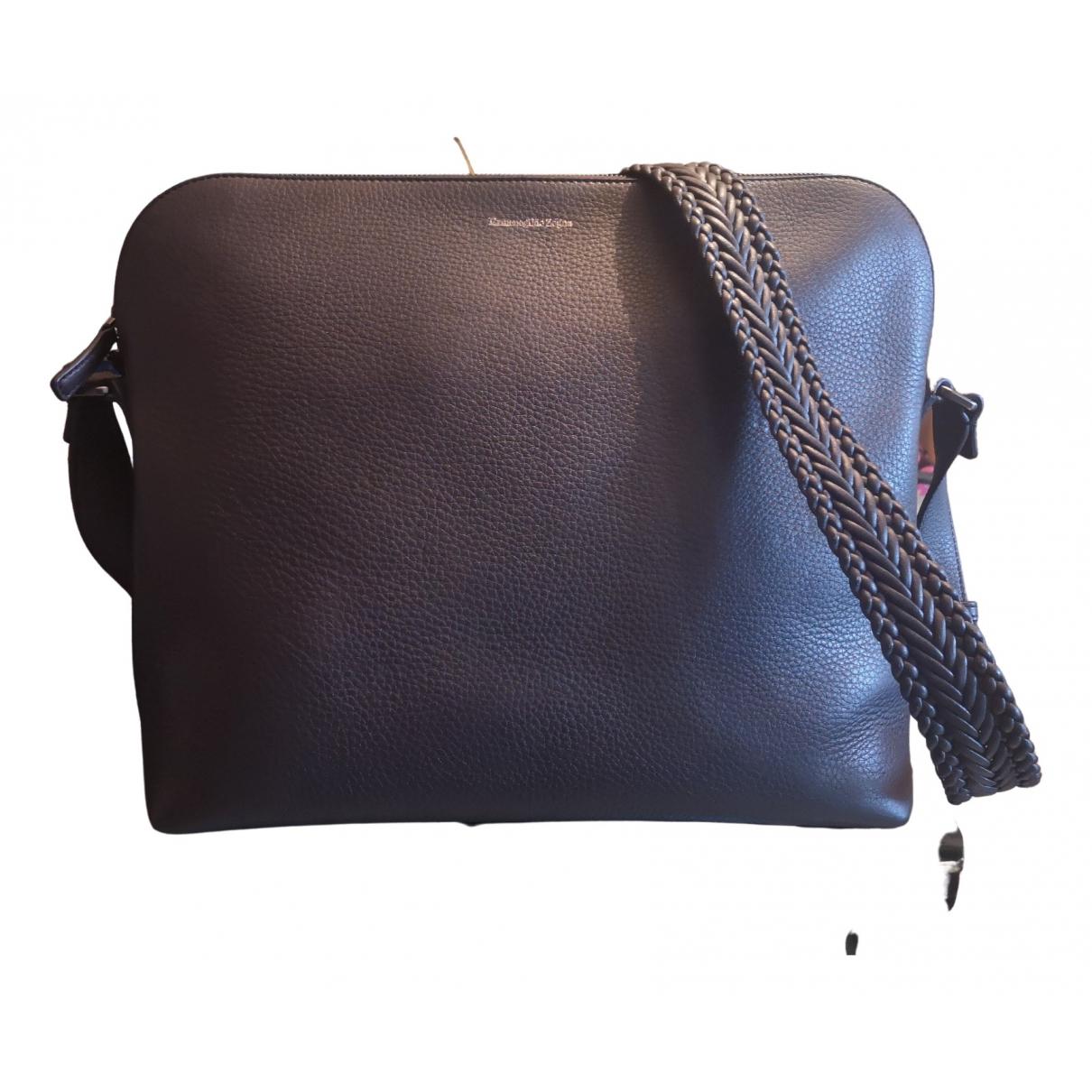 Ermenegildo Zegna \N Brown Leather bag for Men \N