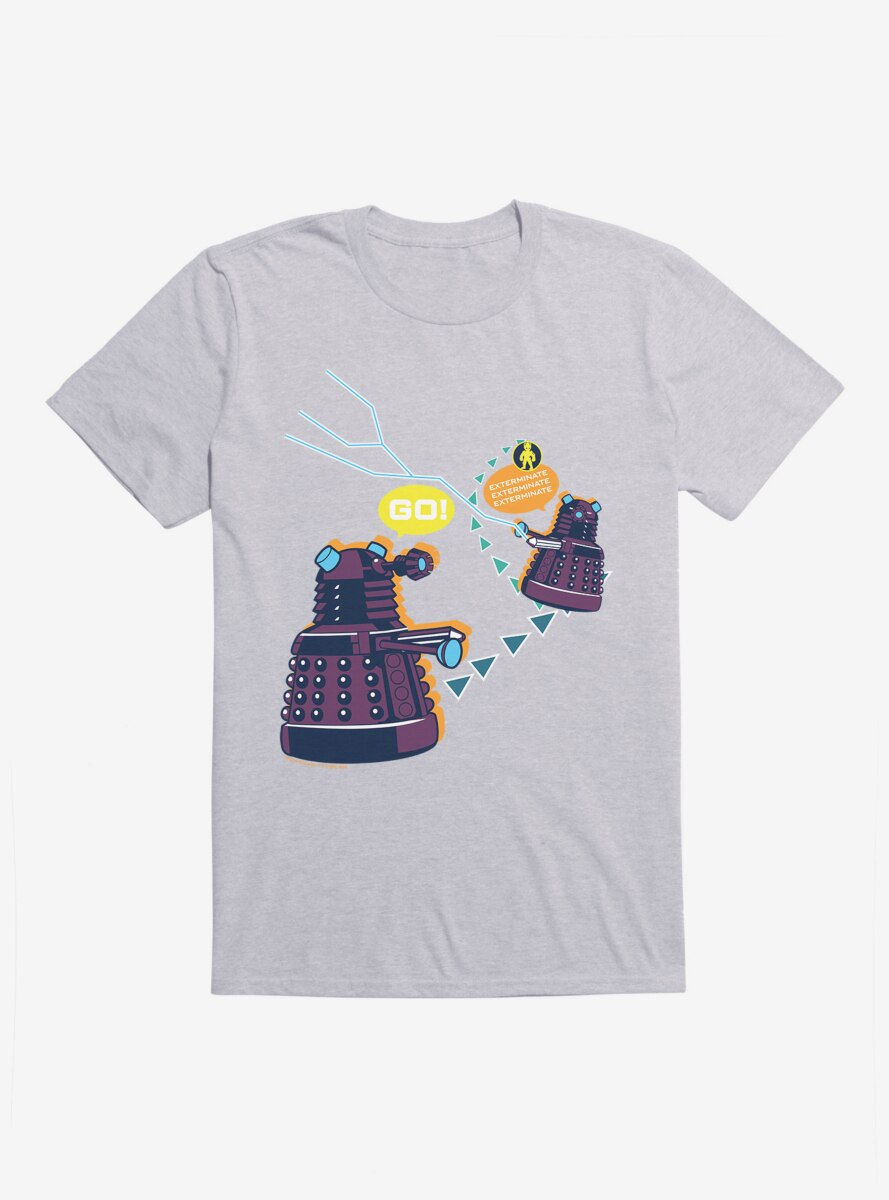 Doctor Who Dalek Exterminate Video Game T-Shirt