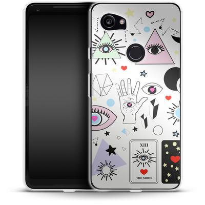 Google Pixel 2 XL Silikon Handyhuelle - Evil Eye von Mukta Lata Barua