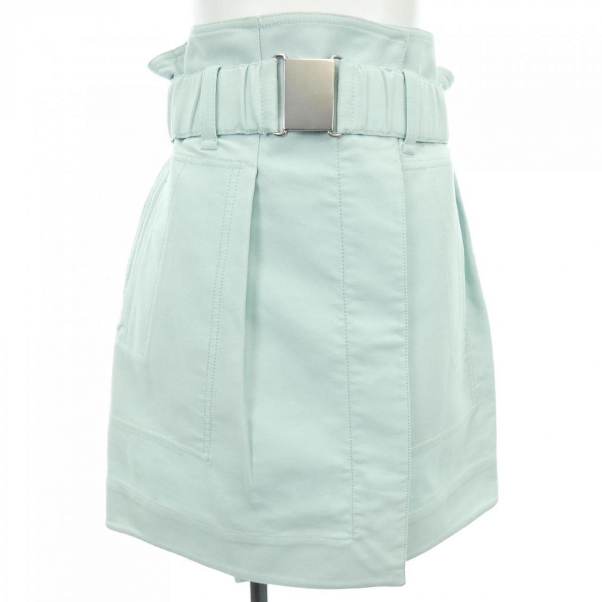 3.1 Phillip Lim \N Blue Cotton skirt for Women 0