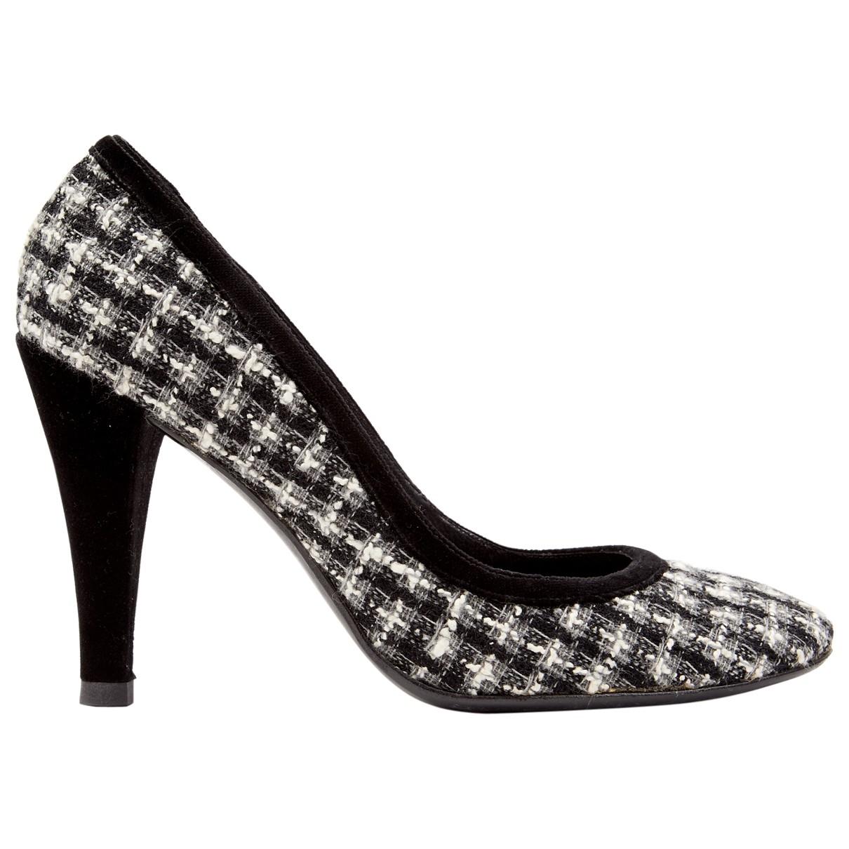 Chanel \N Grey Tweed Heels for Women 39 EU