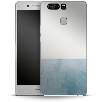 Huawei P9 Silikon Handyhuelle - Colour Block Blue von caseable Designs