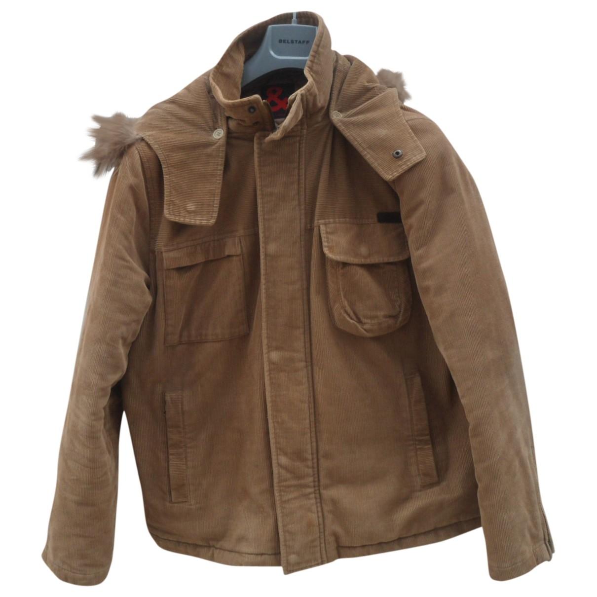 D&g - Manteau   pour homme en velours - beige