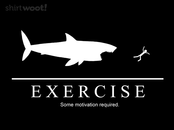Some Motivation Required Shark Remix T Shirt
