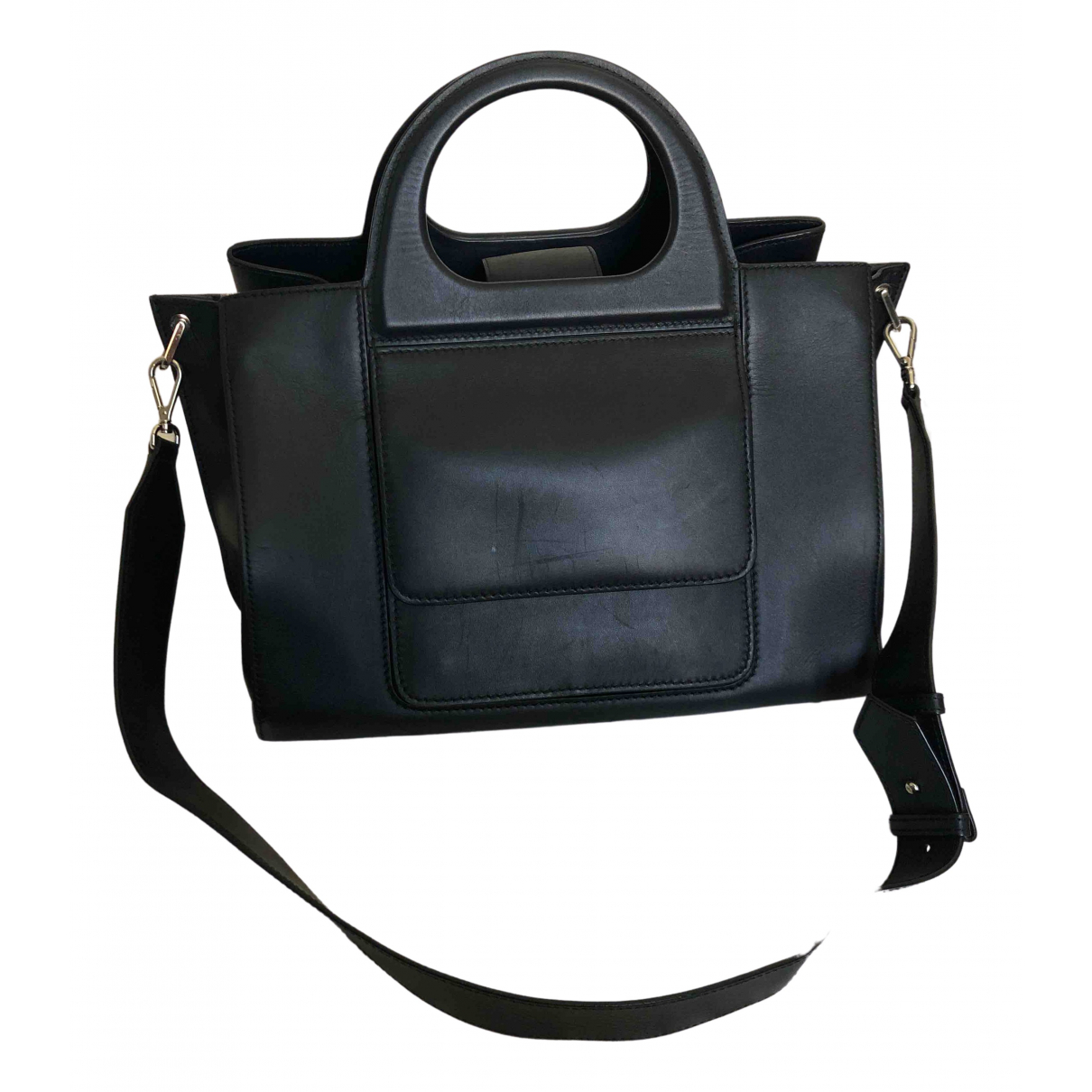Max Mara N Blue Leather handbag for Women N
