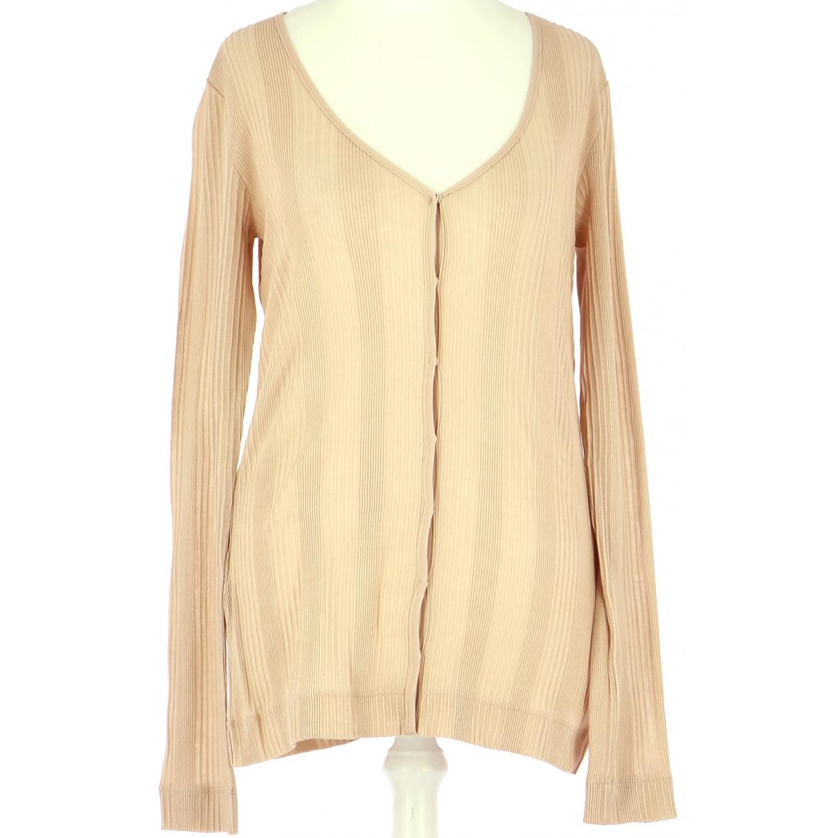 Comptoir Des Cotonniers \N Pullover.Westen.Sweatshirts  in  Rosa Baumwolle
