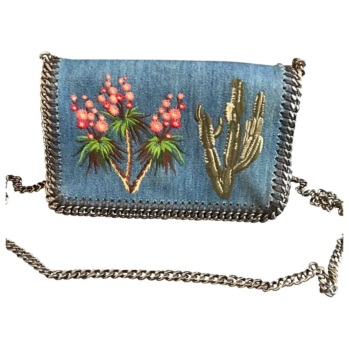 Stella Mccartney Falabella Blue Denim - Jeans handbag for Women \N