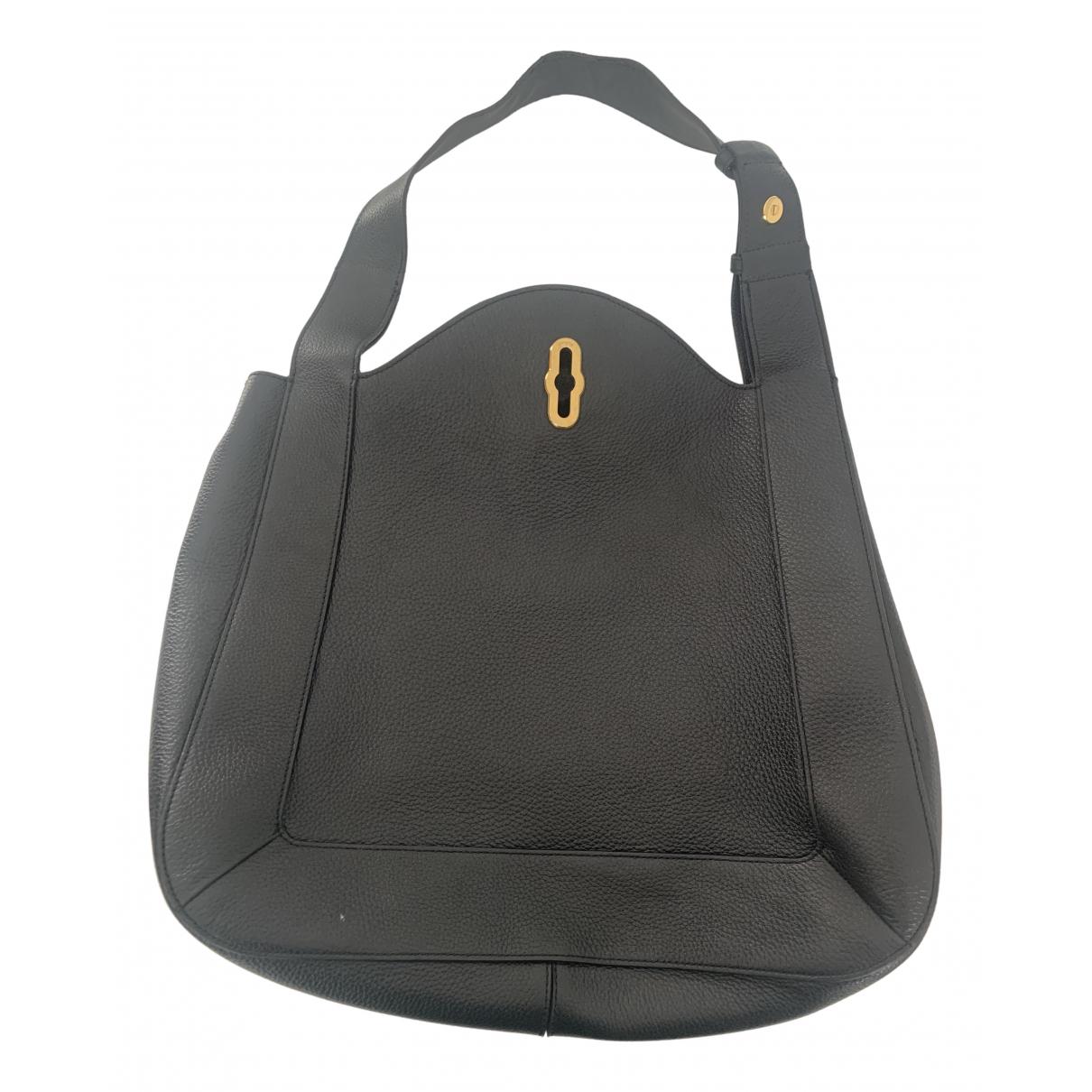 Mulberry Marloes Handtasche in  Schwarz Leder