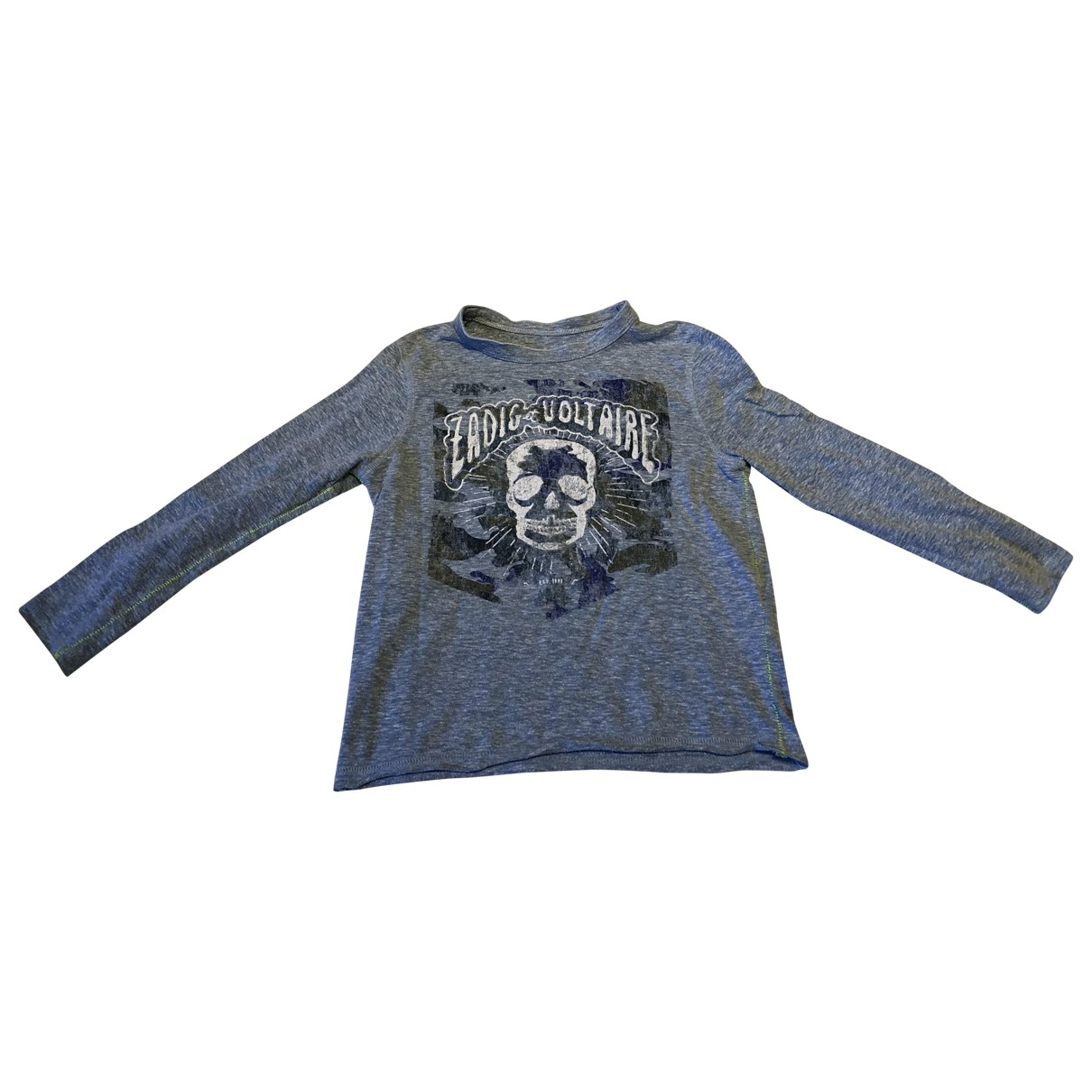 Zadig & Voltaire \N Blue Cotton  top for Kids 5 years - up to 108cm FR
