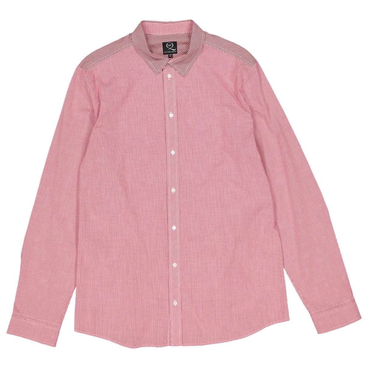 Alexander Mcqueen \N Cotton Shirts for Men L International