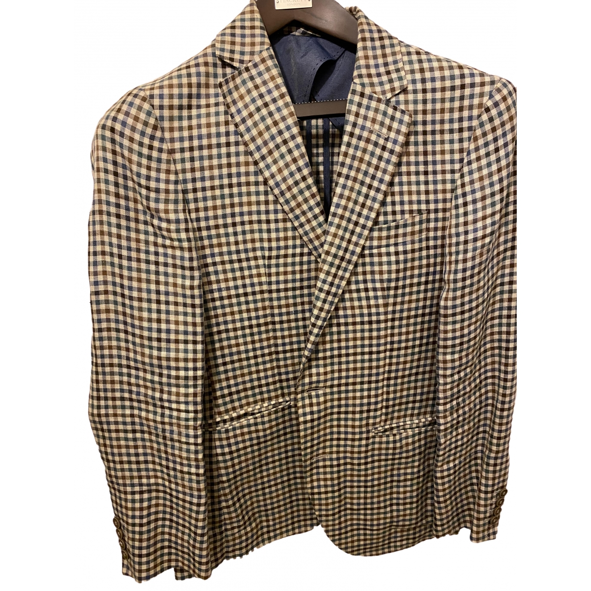 Hackett London \N Multicolour Linen jacket  for Men 38 UK - US