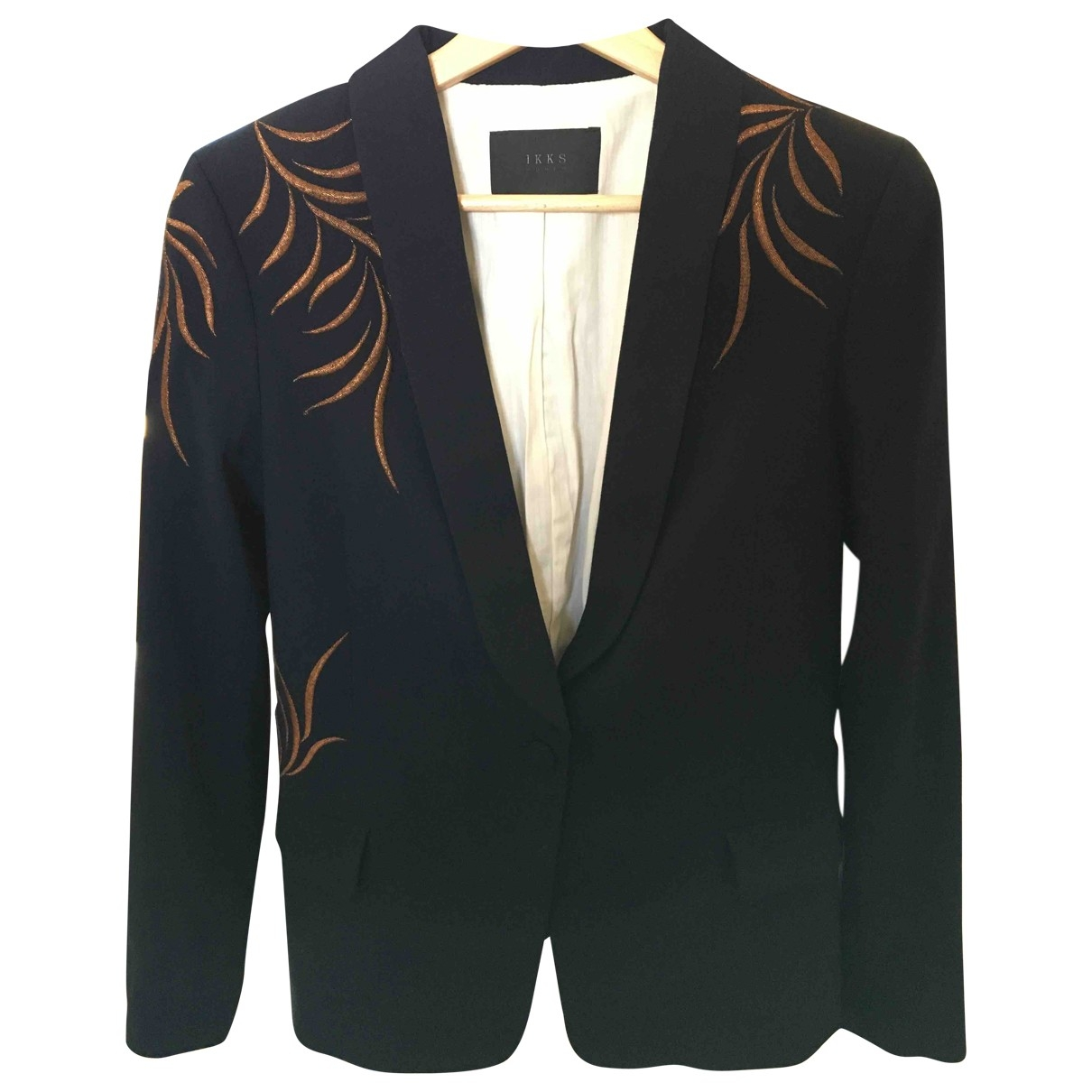 Ikks \N Navy jacket for Women 36 FR