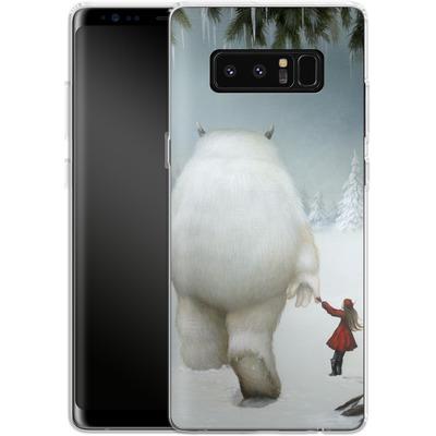 Samsung Galaxy Note 8 Silikon Handyhuelle - Hopeless Wanderer von Dan May