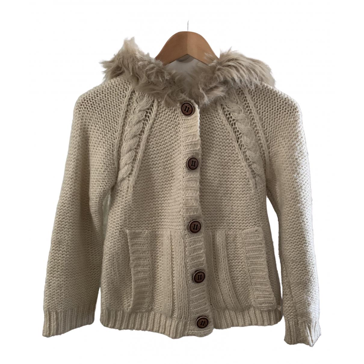 Zara - Pull   pour enfant en coton - beige
