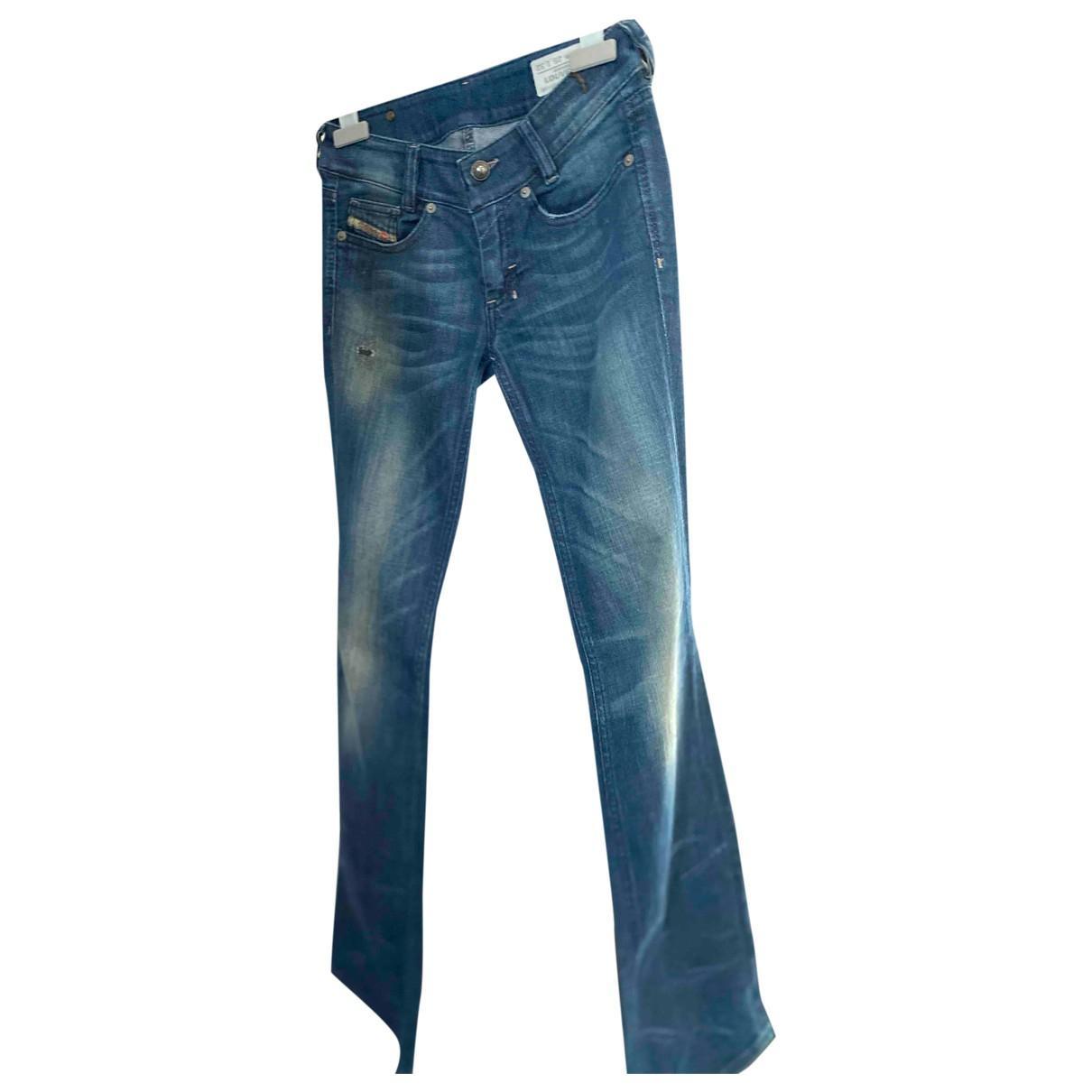Diesel \N Blue Cotton - elasthane Jeans for Women 25 US