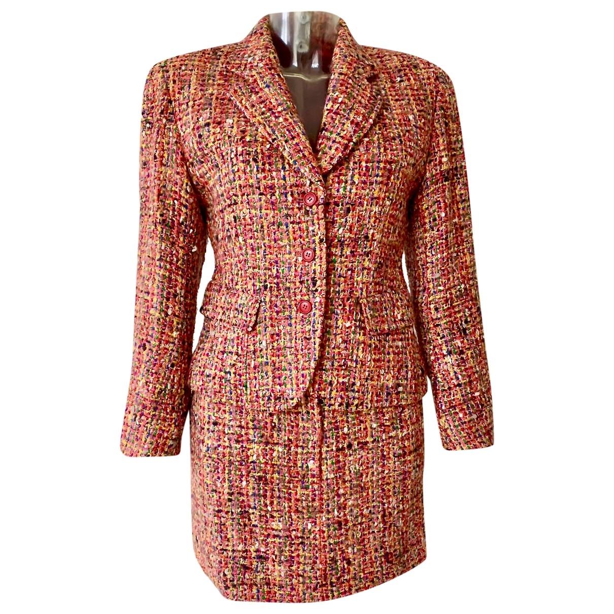 Kenzo - Veste   pour femme en tweed - multicolore