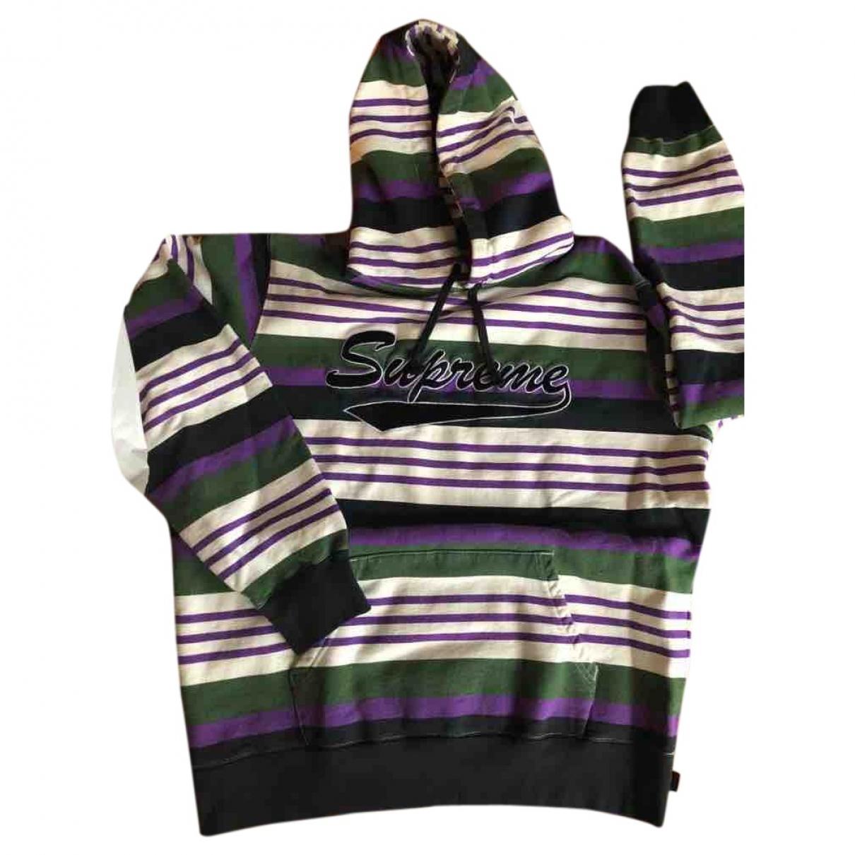 Supreme \N Pullover.Westen.Sweatshirts  in Baumwolle
