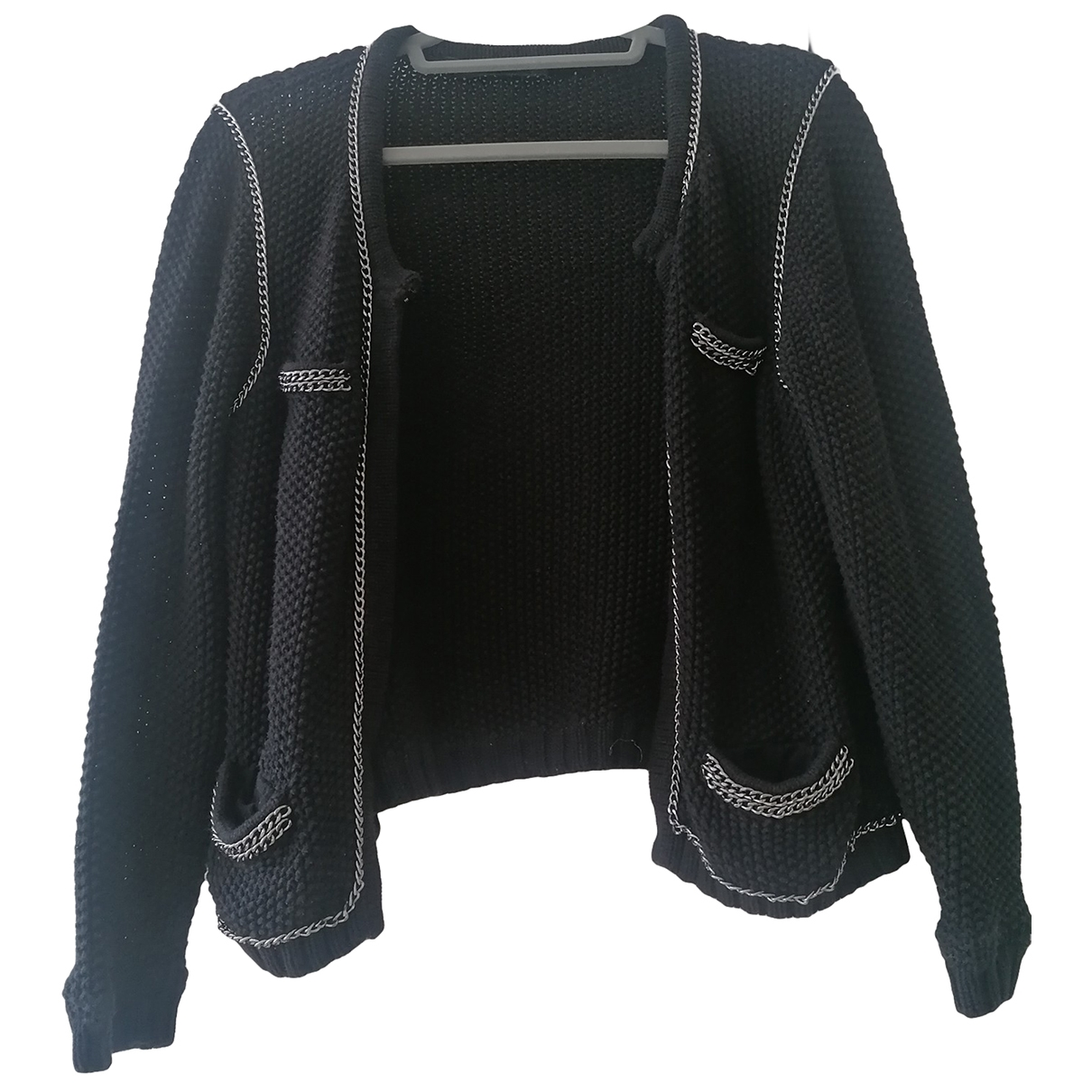 Set - Pull   pour femme en coton - noir