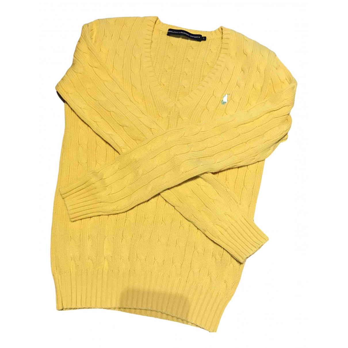 Ralph Lauren \N Pullover in  Gelb Baumwolle