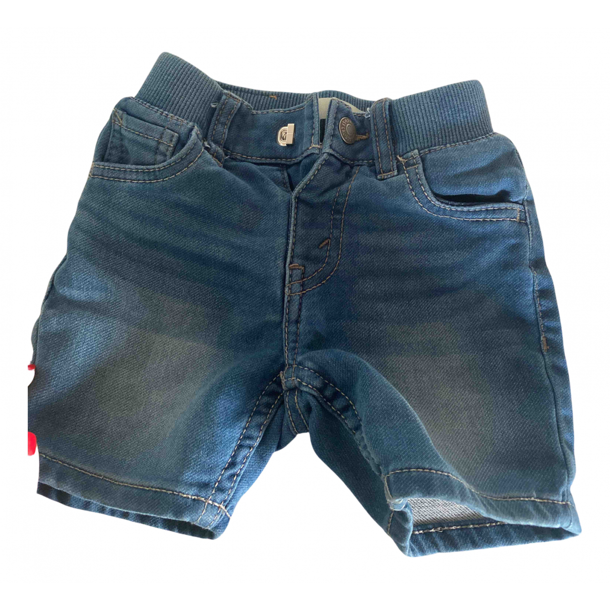 Levi's N Blue Denim - Jeans Shorts for Kids 2 years - up to 86cm FR