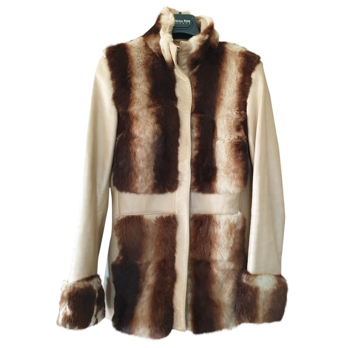 Non Signé / Unsigned \N Multicolour Rabbit coat for Women 42 IT