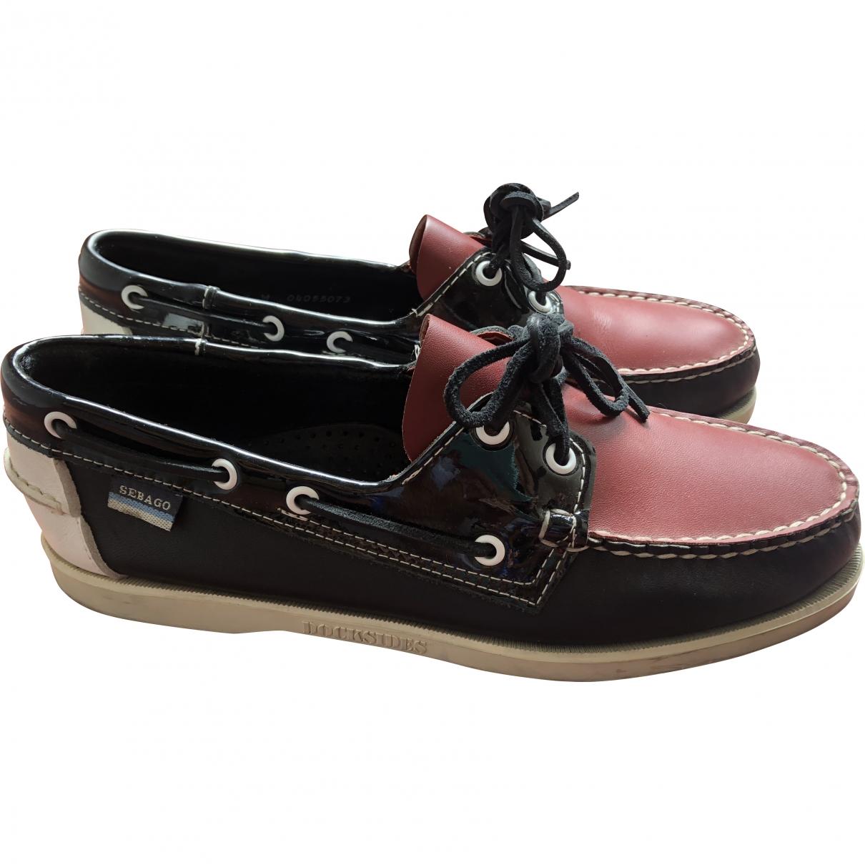 Sebago \N Multicolour Leather Flats for Men 43 EU
