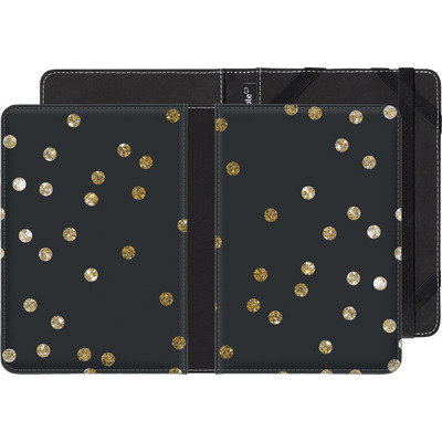 Amazon Kindle Touch eBook Reader Huelle - Gold Dots von Khristian Howell