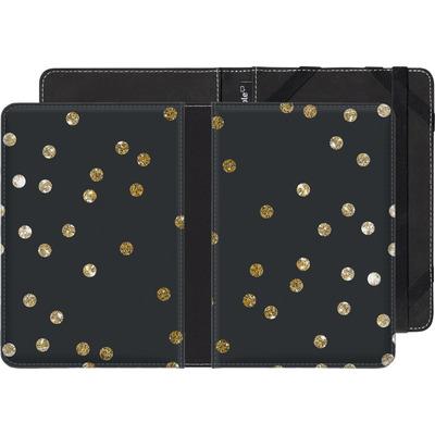 tolino shine 2 HD eBook Reader Huelle - Gold Dots von Khristian Howell