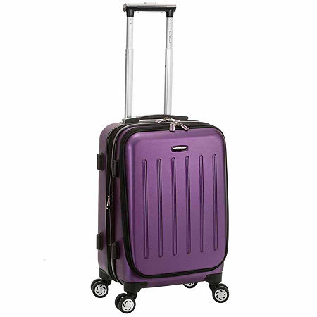 Titan Hardside 19 Inch Spinner Carry On Luggage, One Size , Purple