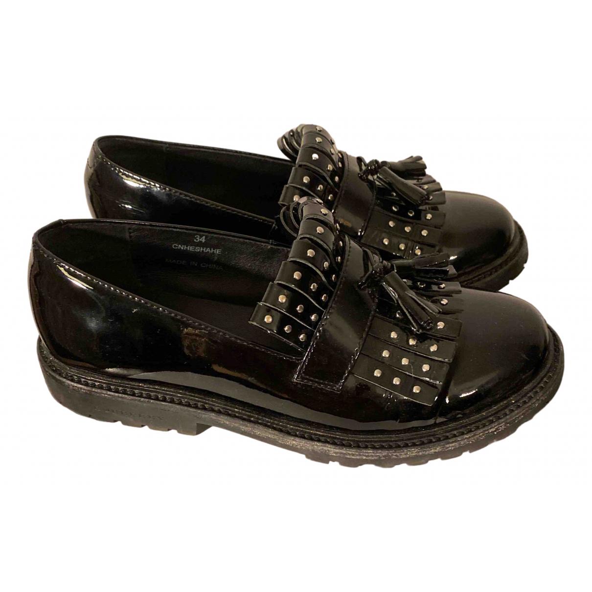 Burberry - Mocassins   pour enfant en cuir - noir